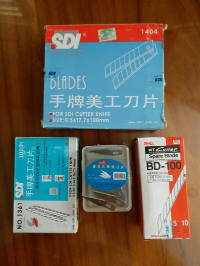 lưởi dao thủ công BD-100+SDI1404+1361
