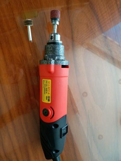 máy mài viền cầm tay (chuyên dùng cho nghành giày dép) điện 110-220V có chỉnh tốc độ